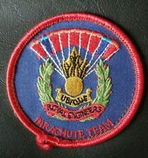 Vintage Royal Engineers Parachute Team Patch