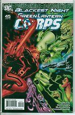 DC Comics Green Lantern Corps #45 April 2010 Blackest Night VF+