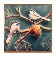 Art Carrelage Céramique Artisanat Peinture Murale Wall Art Home Decor cadeau 15/15 cm