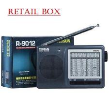 Tecsun R-9012 Radio Multi-Bands FM MW SW 12 Bands Shortwave Radio Receiver Black
