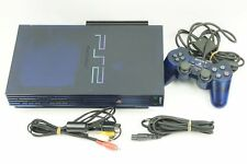 Sony PlayStation 2 BB Pack Midnight Blue Console PS2 From Japan