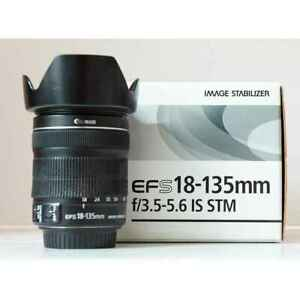 Canon Used Lens EF-S 18-135mm F3.5-5.6 Is Stm