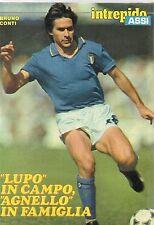 Ga30  Clipping-Ritaglio 1983 Bruno Conti
