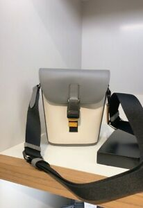 NWT coach men's Track Small Flap Crossbody In Colorblock