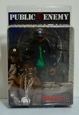 Public Enemy Chuck D. Green Shirt Variant Figure MEZCO Vinyl Figure