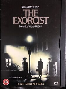 The Exorcist DVD 25th Anniversary edition Rare Region 2 Snap Case
