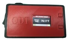 Odt Pocket Temper Digital Thermometer For Dabbing New Red With Black Trim