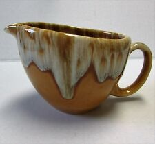 Vintage Hull Butterscotch Yellow Drip Glaze Creamer Unmarked Rare Hard to Find