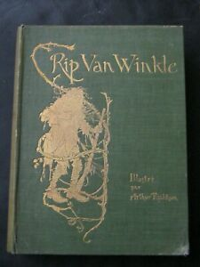 RIP VAN WINKLE / ILLUSTRATIONS ARTHUR RACKHAM /  EO FRANÇAISE DE 1906