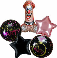 BACHELORETTE BRIDE TO BE DICK PARTY BALLOON HEN NIGHT SUPPLIES DECORATION GIFT