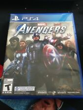 Marvel's Avengers Game PS4 New Complete with Manual/Case/Disc