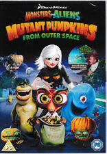 Monsters Vs Aliens: Mutant Pumpkins From Outer Space DVD - Brand New & Sealed