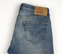 Levi's Strauss & Co Hommes 501 Jeans Jambe Droite Taille W36 L28 AOZ972