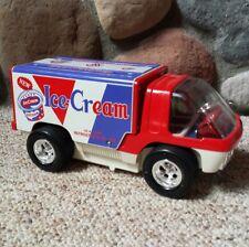 VTG Taiyo 1970's Bump N Go Ice Cream Big Wheel Van Toy Truck Japan Tested Works