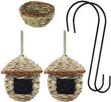 Humming Bird Houses for Outside Hanging, Set of 5 Bird House Kits incluing 2 Pcs