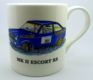 FORD CARS Large Bone China Mugs~Choose from the drop down list