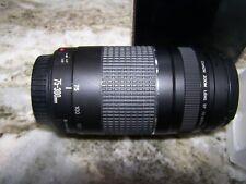 USA, Canon EF 75-300mm f/4-5.6 III Autofocus Lens for EOS T3
