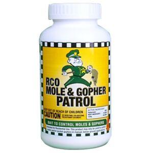 RCO Mole Patrol Killer Bait 1 Pound Jar Lawn Garden Rodent Golf Course