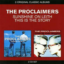 PROCLAIMERS SUNSHINE ON LEITH & THIS IS STORY CD NEW