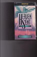 HEAVEN SENT (2) VHS Set 25 TRUE ACCOUNTS OF HEAVENLY INTERVENTION  NEW/SEALED!