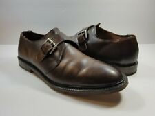 ALLEN EDMONDS Norwich Brown Single Monk Men's Dress Shoes - Size 13D
