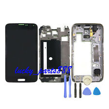 LCD Display Touch Screen Digitizer Assembly+ Frame For Samsung Galaxy S5 G900F