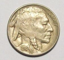 1916-D  BUFFALO INDIAN HEAD NICKEL Better Date Sharp AU  #16B56