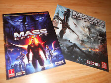2 Mass Effect 1 Strategy Guide + 2015 16-month Calendar 3 RARE COLLECTOR'S LOT