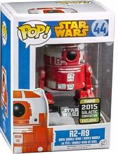 FUNKO BOBBLE HEAD POP CULTURE STAR WARS R2 R9 RED CONVENTION SPECIAL NEW