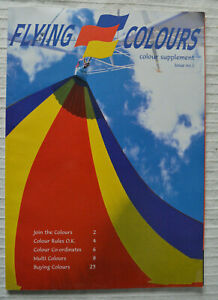 Issue No. 1 Flying Colours Inflight Magazine airline Thomas Cook charter