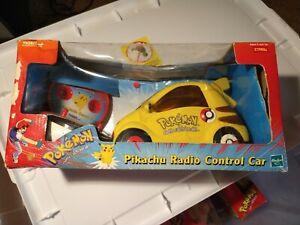 Pokemon Pikachu Radio Control Car Hasbro Tiger Electronics