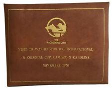 More details for horse racing photo album washington colonial cup camden carolina piggott 1970