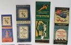 Lot of 12 -  Vintage Matchbooks - Assorted