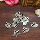 NEW Charm 8pcs Queen Crown Tibet Silver Pendant Fit for Bracelet Necklace FP23