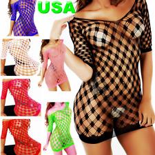 Hot Bodystockings Lingerie Body Stocking Bodysuit Dress Nightwear Sleepwear Net