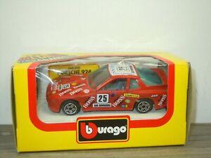 Porsche 924 Turbo GR.2 - Bburago 4111 Italy 1:43 in Box *52494