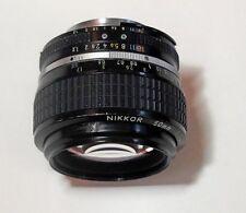 Nikon Nikkor Ai-S 50mm f/1.2 Lens - needs servicing