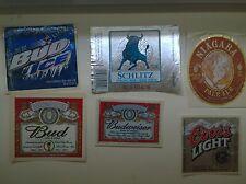 46 Beer label/Bier-Etiketten Usa-Canada