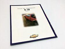 1997 Chevrolet S-10 Pickups Brochure - French