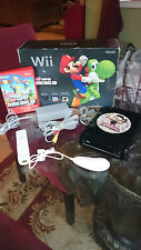 ORIGINAL NINTENDO Wii SUPER MARIO BROS BUNDLE in BOX + CARNIVAL GAME