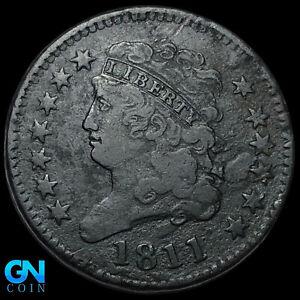 1811 Classic Head Half Cent --  MAKE US AN OFFER! #K8845