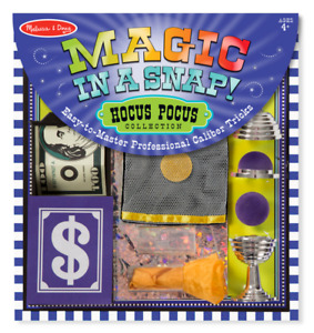 NEW Melissa & Doug Magic in a Snap! Abracadabra Collection Ages 4+ 6219