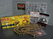 SUZUKI GSXR1000 K1 K2 K3 CHAIN AND SPROCKET KIT 01-03 HEAVY DUTY GOLD X-RING