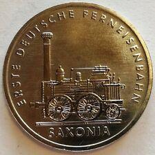 GERMANY: DDR: 5 mark 1988A, Eisenbahn