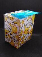 Pokemon center JAPAN - Pikachu face Card Deck case Box