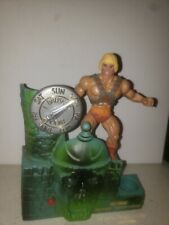 He-Man Masters Of The Universe Talking Tooth Brush Toothbrush Holder 1984