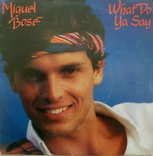 "7"" 1981 NL-PRESS ! MIGUEL BOSE : What Do Ya Say /MINT-"