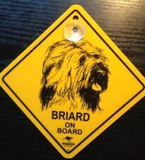 12cm Roadsign Schild mit Saugnapf BRIARD