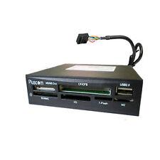 """3.5 """"INTERNO Multi Card Reader Writer PER MINI MICRO SD MMC MS USB componente"""