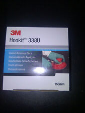 3 Boxes of Red 3M Hookit Disc 80grit   51153